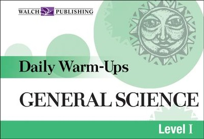 Digital Download Daily Warm-Ups: General Science Level I - PDF Download  [Download] -