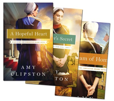 Hearts of Lancaster Grand Hotel Series, Volumes 1-3  -