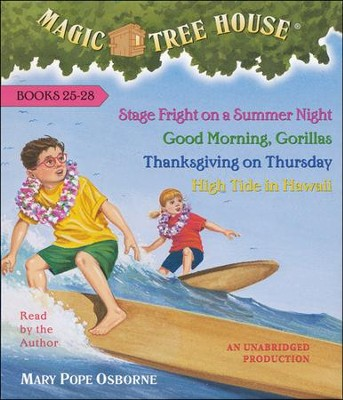 Magic Tree House: Books 25-28 Unabridged Audiobook on CD  -     By: Mary Pope Osborne