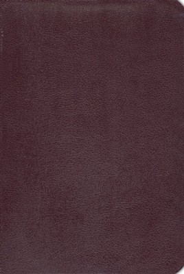 NIV Life Application Study Bible, Revised, Top Grain leather, burgundy 1984  -