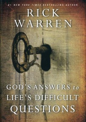 God's Answers to Life's Difficult Questions, Repackaged  -     By: Rick Warren