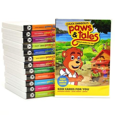Paws & Tales DVD Collection, Volumes 1-13   -