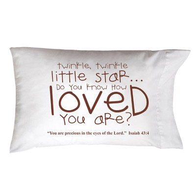 Twinkle, Twinkle , Little Star Pillowcase  -