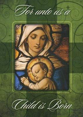 A Child Is Born, Box of 12 Christmas Cards  -