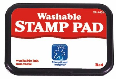 Red Stamp Pad   -