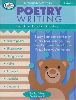 Poetry Writing for the Early Grades, Grades 2-4   -     By: Rosalba Bottega, Yolande Colwell