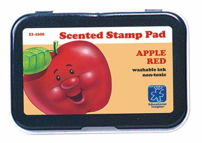 Red/Apple Scent Stamp Pad   -