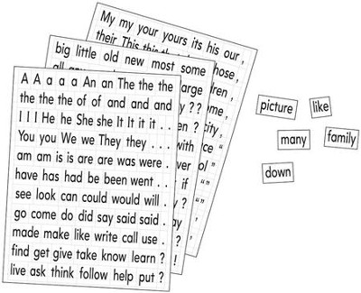 Magnetic Sight Words   -