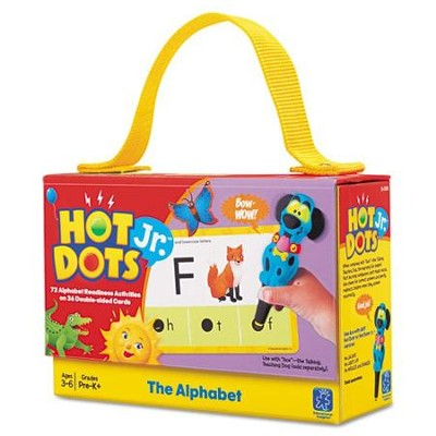 Hot Dots Jr. Cards: The Alphabet   -