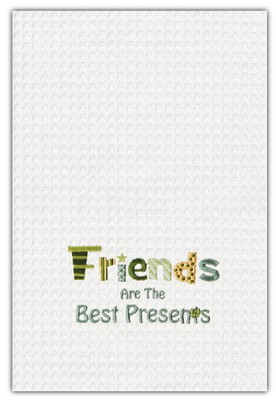 Friends Kitchen Towel  -