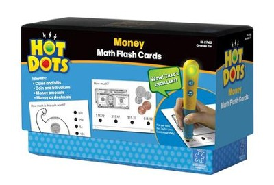 Money Hot Dots Flash Cards   -