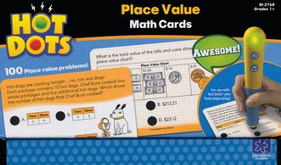 Hot Dots Place Value Cards   -