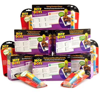 Hot Dots Reading Comprehension Program   -