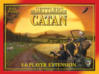 The Settlers of Catan 5 & 6 Player Extension (4th Edition)  -