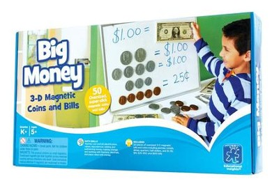 Big Money - Magnetic Coins and Bills   -