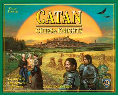Catan: Cities & Knights Game Expansion (4th Edition)   -