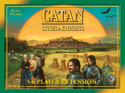 Catan: Cities & Knights 5-6 Player Extension (4th  Edition)  -
