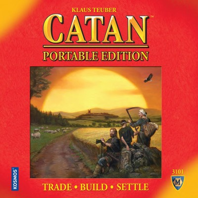 Settlers of Catan Portable Edition (2nd Edition)   -