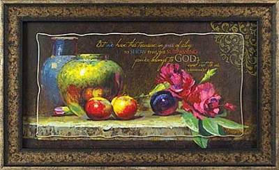 But We Have This Treasure in Jars of Clay Framed Print  -