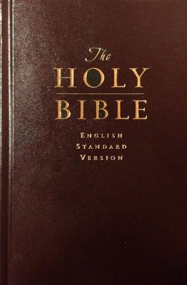 ESV Pew Bible, Hardcover, Red   -     By: Bible