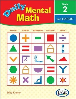 Daily Mental Math 2, 2nd Edition   -     By: Eddy Krajcar