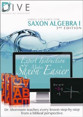 Saxon Math Algebra 1 3rd Edition DIVE CD-Rom  -