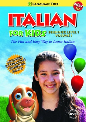 Italian for Kids Beginner Volume 1  -