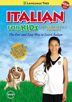Italian for Kids Beginner Volume 2  -