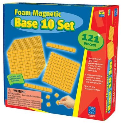 Foam Magnetic Base 10 Set   -