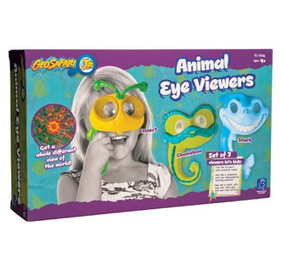 GeoSafari Jr. Animal Eye Viewers, Set of 3   -