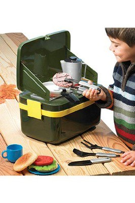 Let's Pretend Grill-and-Go Camp Stove   -