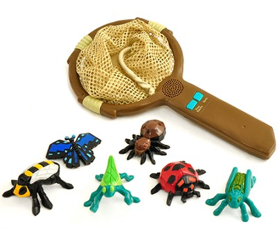 GeoSafari Jr. Fun Facts Talking Bug Net   -