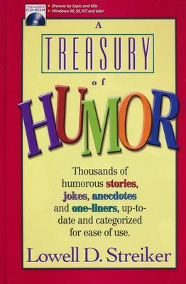 A Treasury of Humor, Book and CD-ROM   -     By: Lowell D. Streiker