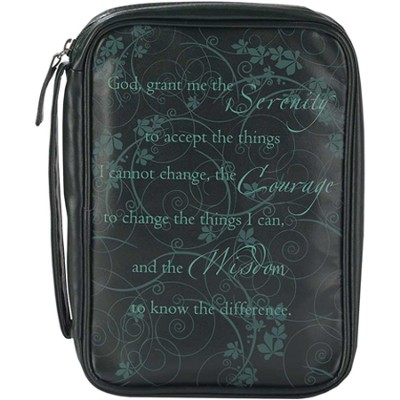 Serenity Prayer Bible Cover, Medium  -
