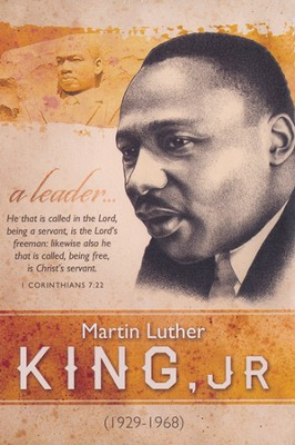 Martin Luther King Bulletin (1 Corinthians 7:22) 100  -