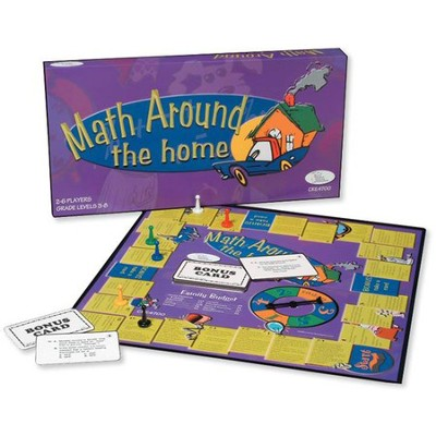 Math Around the Home Game   -