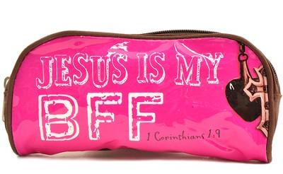 Jesus Is My BFF, Pencil Case  -