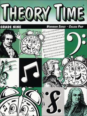 Theory Time for Grade Nine - Advanced Workbook  -