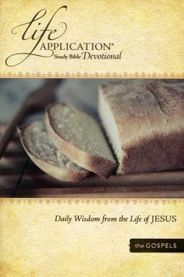 Life Application Study Bible Devotional: Daily Wisdom from Jesus  -