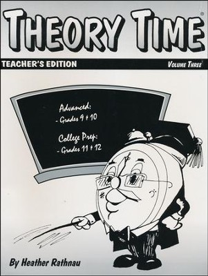 Theory Time for Grades 9-12 Teacher's Edition  -