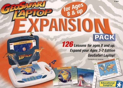 GeoSafari Laptop Expansion Pack, Ages 8 and up   -