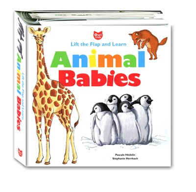 Animal Babies Lift the Flap and Learn  -     By: Pascale Hedelin     Illustrated By: Stephanie Herrbach