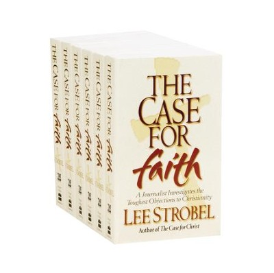 The Case for Faith, Mass Market Pack of 6   -     By: Lee Strobel