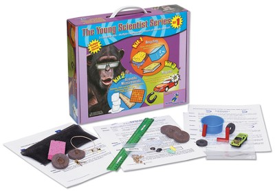 The Young Scientist Series Set 1: Recycling, Scientific Measurements and Magnets  -
