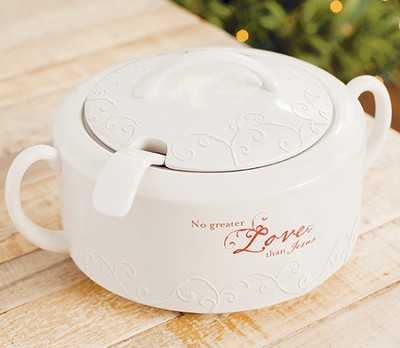 No Greater Love Soup Tureen  -