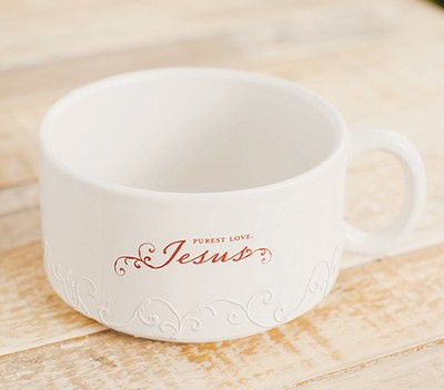 Purest Love Jesus Soup Bowl  -