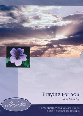 New Mercies Praying for You Cards, Box of 12  -
