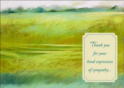 Kind Expressions, Sympathy and Thank You Cards, Box of 12  -