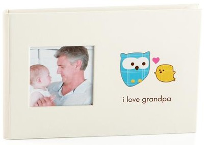 I Love Grandpa Bragbook Photo Album  -
