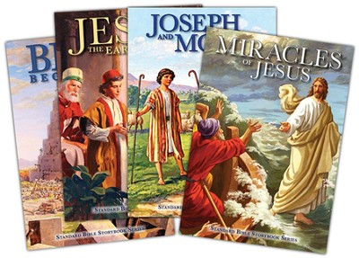Standard Bible Storybook Series  -     By: Carolyn Larsen